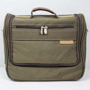 Briggs & Riley Travel Messenger Bag No Strap Olive